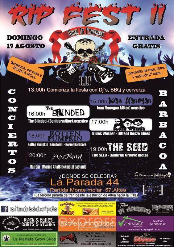 THE SEED – Hijos del Metal #15 – ORQUÍDEA NEGRA (BRA)