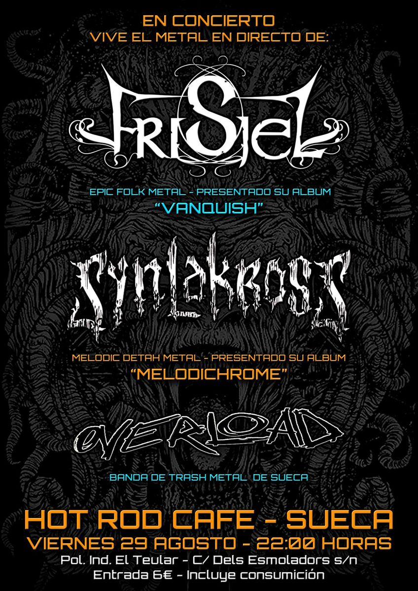 SYNLAKROSS – Festival Los Alcázares – BLACK OIL (USA)