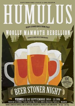 Beer Stoner Night – ARIA IGNIS + LAMB OF DOG – REGRESIÓN