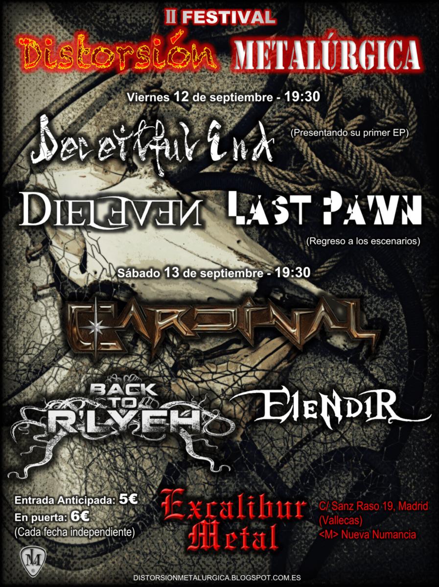 Rock Antena Roll – PHOENIX RISING – Festival Distorsión Metalúrgica