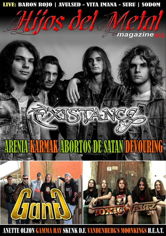 Fanzine Hijos del metal #15
