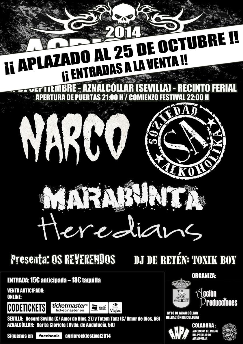 Palencia Metal Rock 2015 – Agrio Rock Festival 2014 – STEIGNYR