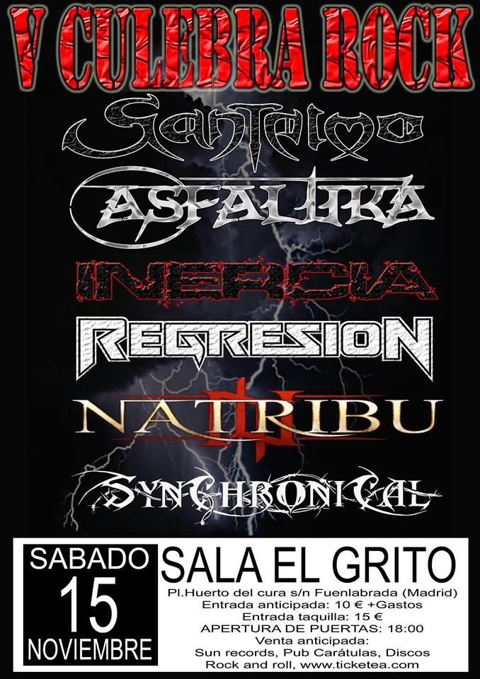 METAL WEEKEND FESTIVAL – V CULEBRA ROCK – SAD EYES