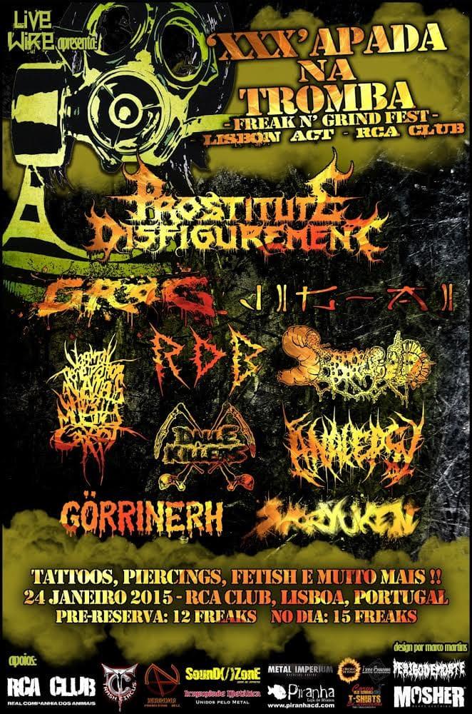 Freak n' Grind Fest –  ATMOSPHERA POST MORTEM – THE HOLE
