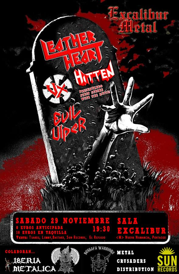 SEXAINE – TRANSITO + LORELEY – LEATHER HEART