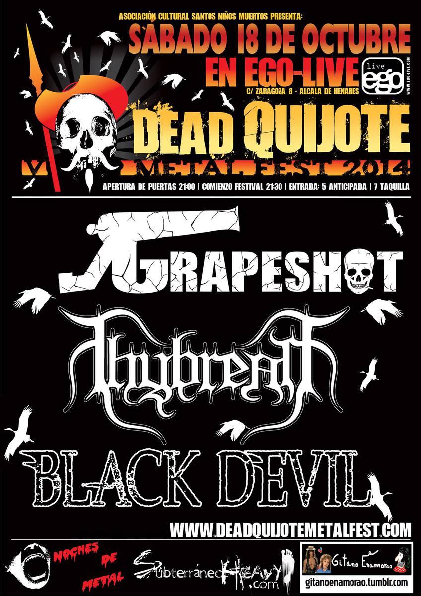 V Dead Quijote Metal Fest – Alcalá de Henares, 18/10/14