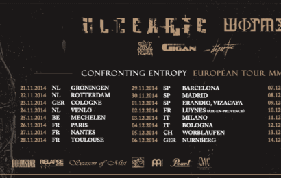 Confronting Entropy European Tour MMXIV (WORMED, ULCERATE…)