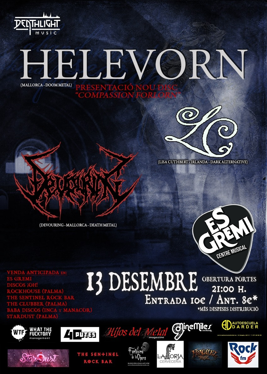 Heavy Noise On Tour – HELEVORN – CALIBRE ZERO