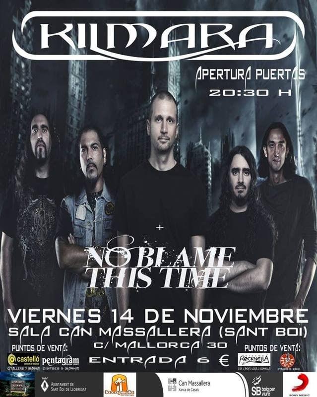 KILMARA- IV Renacer hard rock fest – SYNLAKROSS