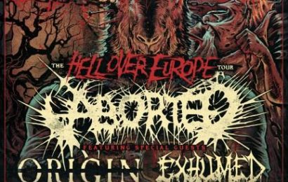 Hell over Europe: ABORTED, ORIGIN, EXHUMED y MIASMAL