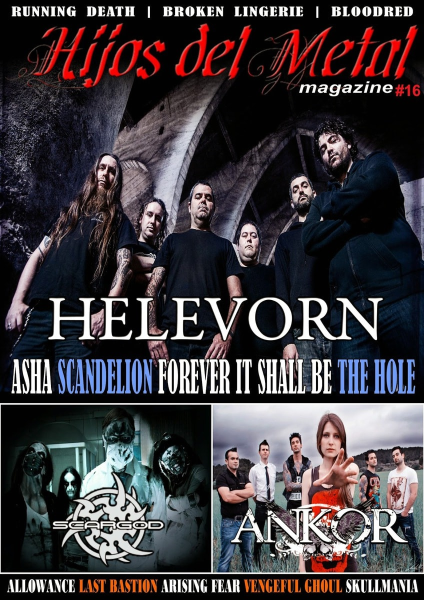 Fanzine Hijos del metal #16