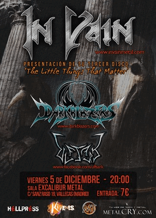 IN VAIN – PALENCIA METAL ROCK 2015 – HUMMANO