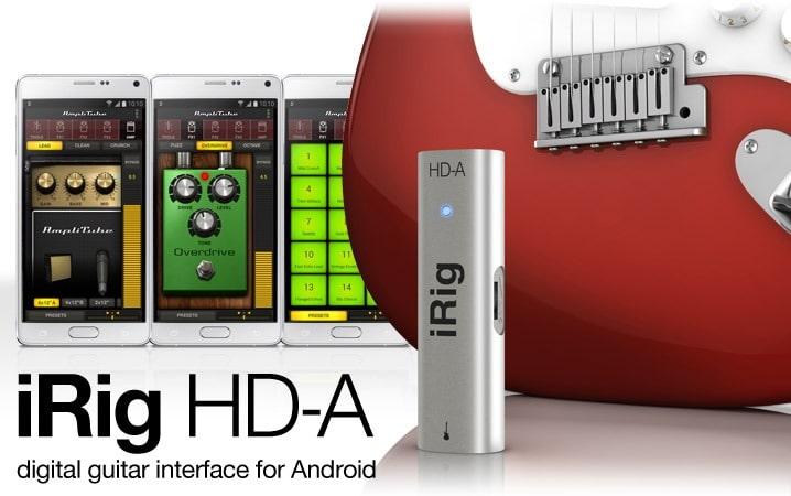Llévate tu ampli y tu pantalla en tu smartphone Samsung con AmpliTube