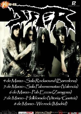 THE SICK SIDE – SISTER (SWE) – Fan metal show