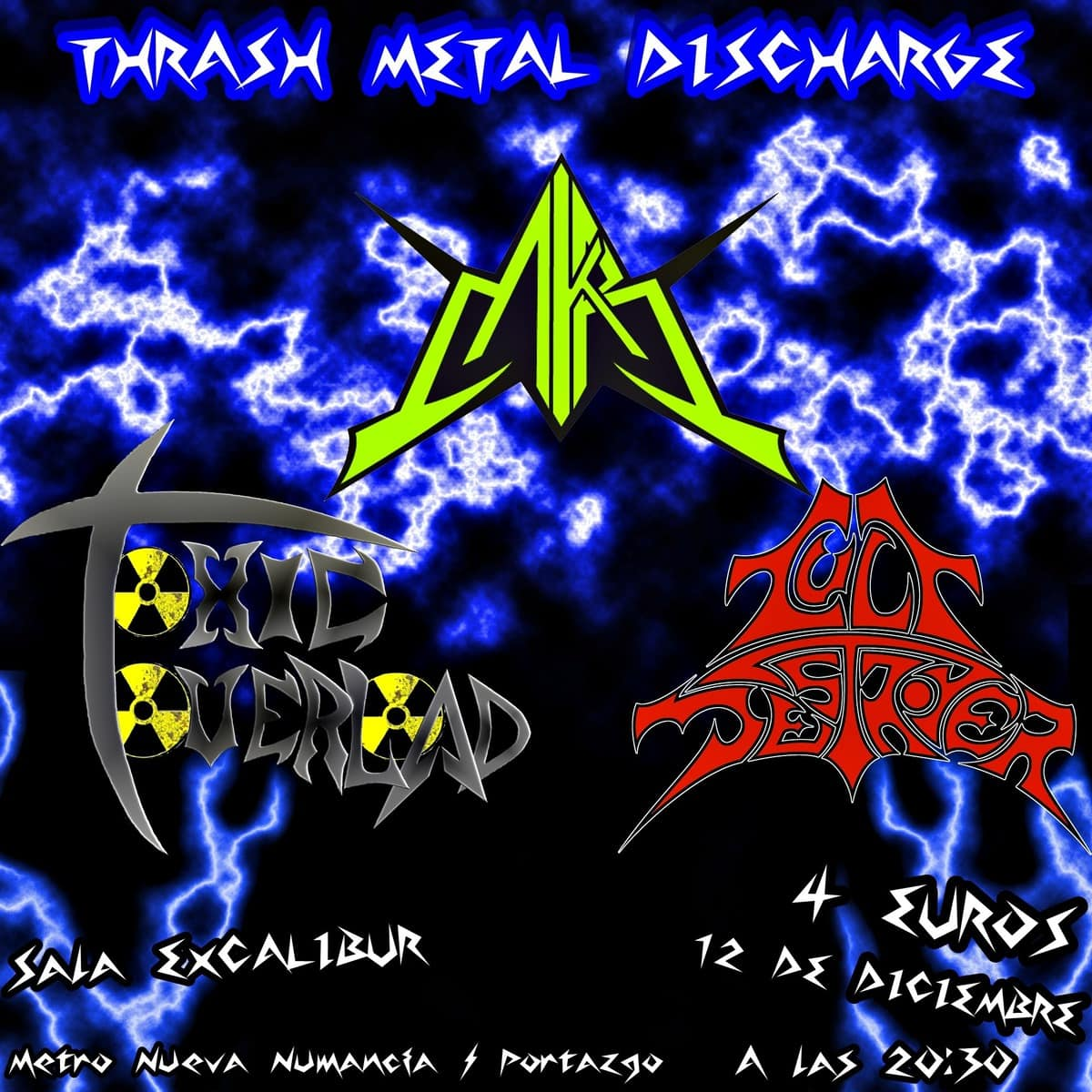 TOXIC OVERLOAD – Die in a mosh fest – LUIS IBAÑEZ