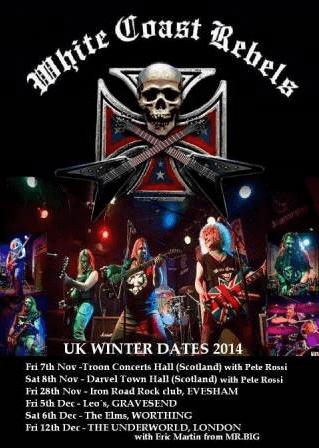 PHOENIX RISING – Metal church fest – WHITE COAST REBELS(ENG)