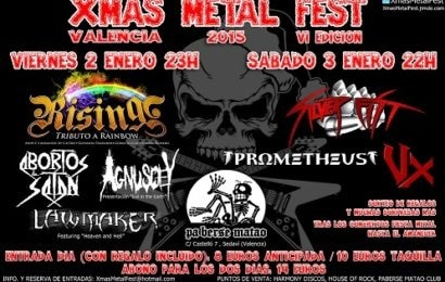 Hard rock attack – Rock antena roll – Xmas metal fest