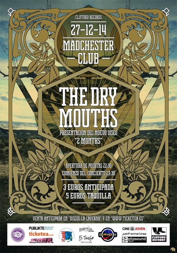 THE DRY MOUTHS – ASFÁLTIKA – JOLLY JOKER
