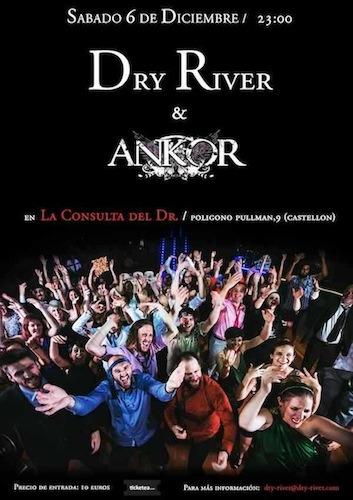 DRY RIVER – Fan metal show – DOBLE ESFERA