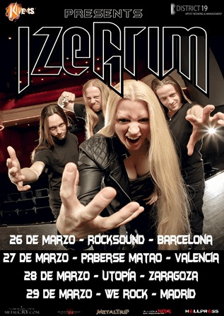 IZEGRIM (NLD) – Rock'in five festival – FRAN SOLER