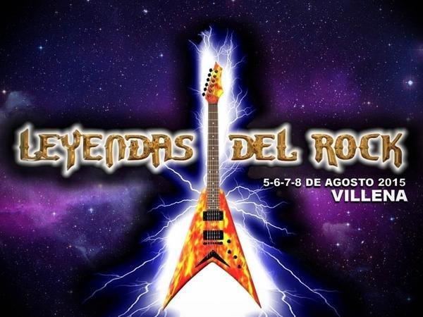 Cartel completo del LEYENDAS DEL ROCK