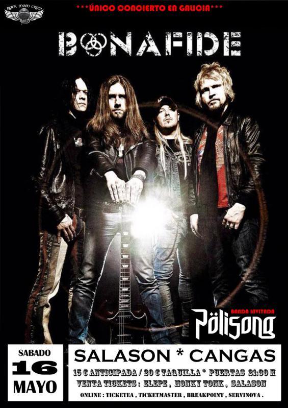 BONAFIDE (SWE) – QUAOAR – Union metal fest