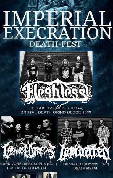 I Imperial execration death-fest – HEAVING EATH (CZE) – STAINED BLOOD
