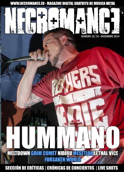 Necromance magazine #Diciembre2014