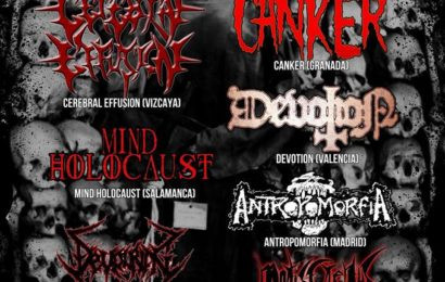 Spain death metal fest V, el 7 de marzo en Alicante