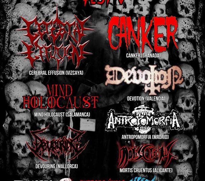 Spain death metal fest V, el 7 de marzo en Alicante