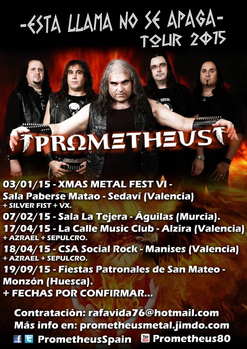 PROMETHEUS - TOUR 2015