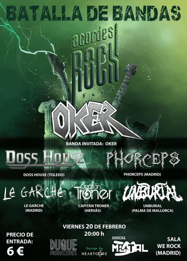 Festival Acordes de Rock – VIRGEN – TOPO