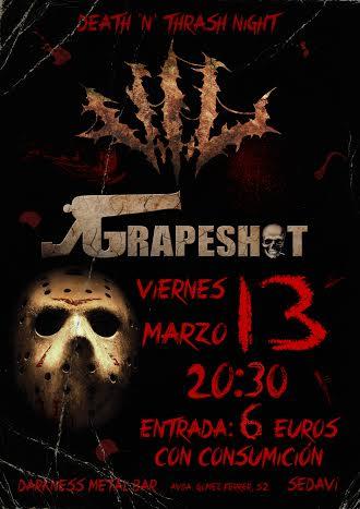 Death N Thrash Night – On fire metal fest – SOUL ASIDE