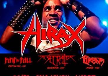 HIRAX (USA) – I Scream for the zombie fest – ORAKLE (FRA)