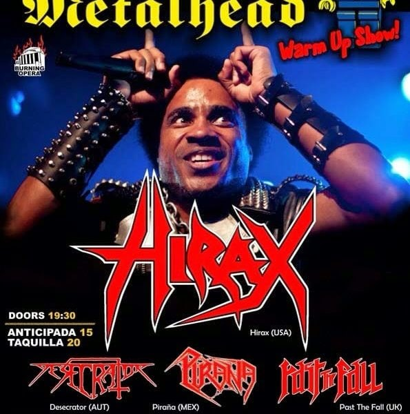 Diario de un metalhead Warm up show (25 de marzo en Oviedo)