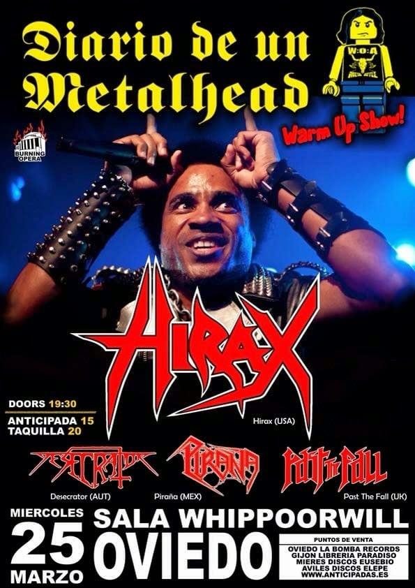 Diario de un metalhead warm up show – ECLIPSE (SWE) – XTASY