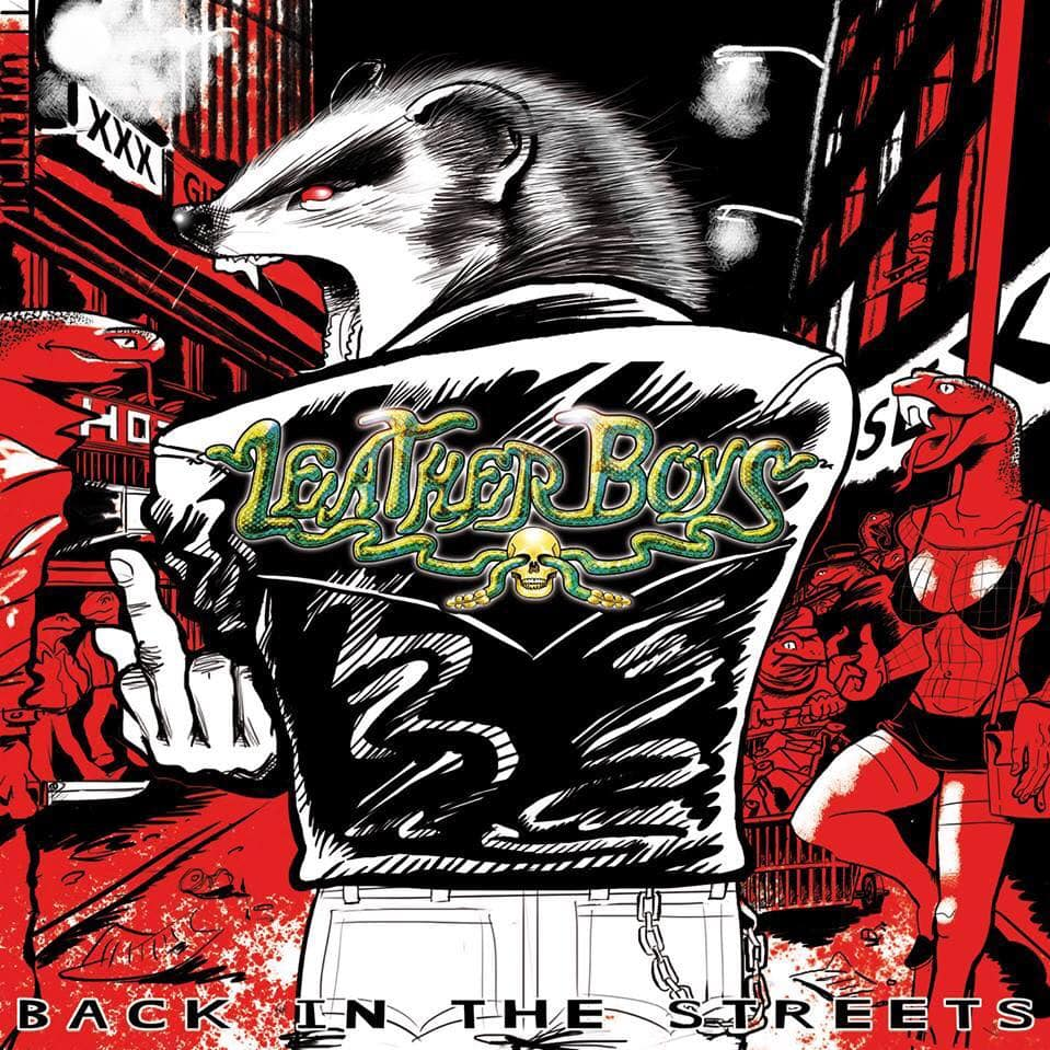 LEATHER BOYS – Back in the streets, 2014