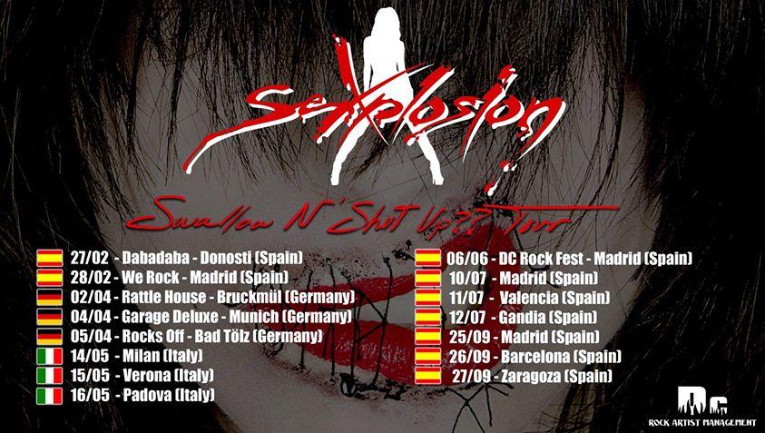 SEXPLOSION – Fan metal show – LUTER