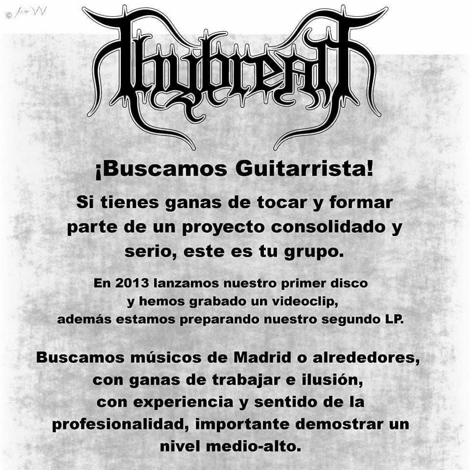 THYBREATH busca guitarrista