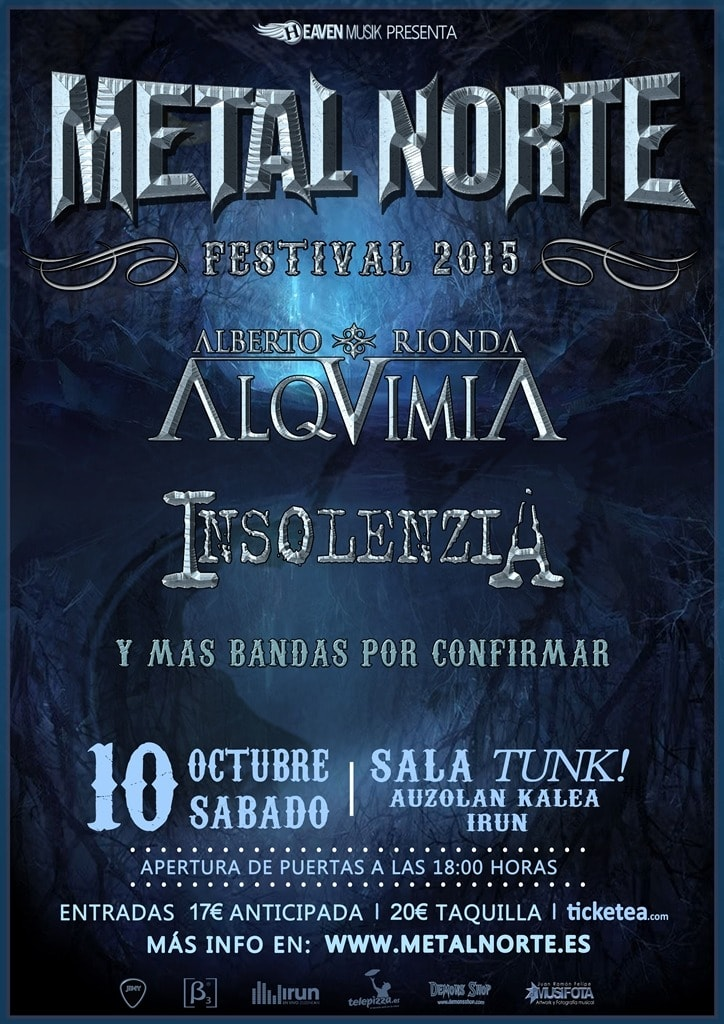 LEYENDA – Metal Norte Festival 2015 – 7 ALMAS y THE VAL