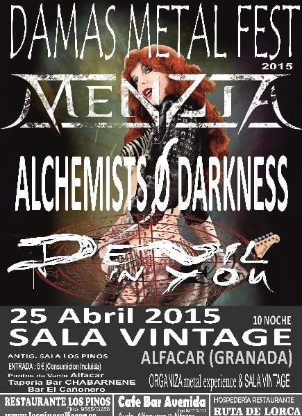 ARMENIAN – IN MUTE – Damas del Metal Fest 2015