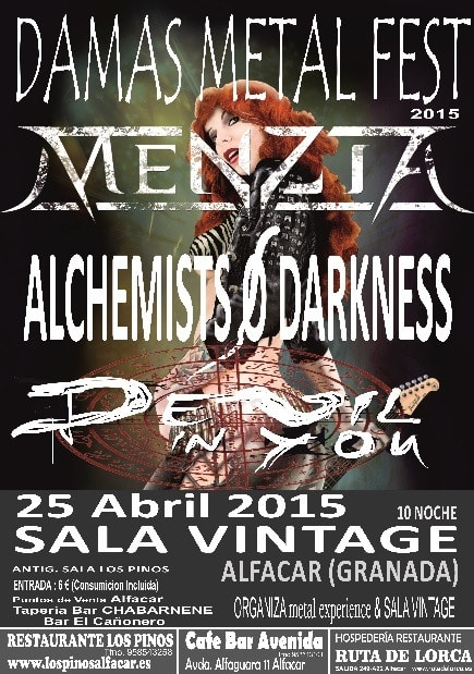 ARMENIAN – IN MUTE – Damas del Metal Fest 2015