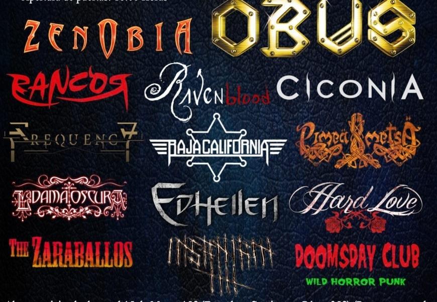 On Fire Metal Fest II – THIRD DIM3NSION – JADED HEART (GER)