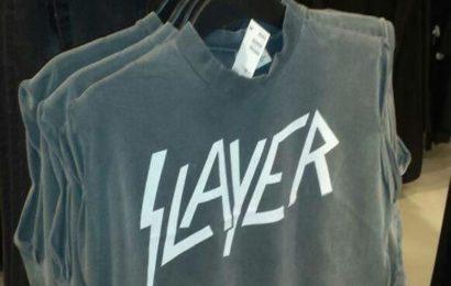 La camiseta de SLAYER o el negocio de la moda