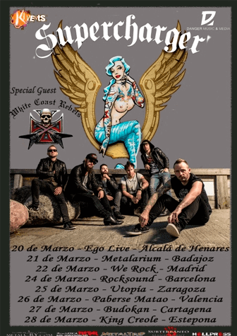Fan Metal Show – SUPERCHARGER (DNK) – ETERNITY