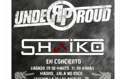 SIBEFOR (RU) – Fan metal show – UNDER PROUD + SHAIKO