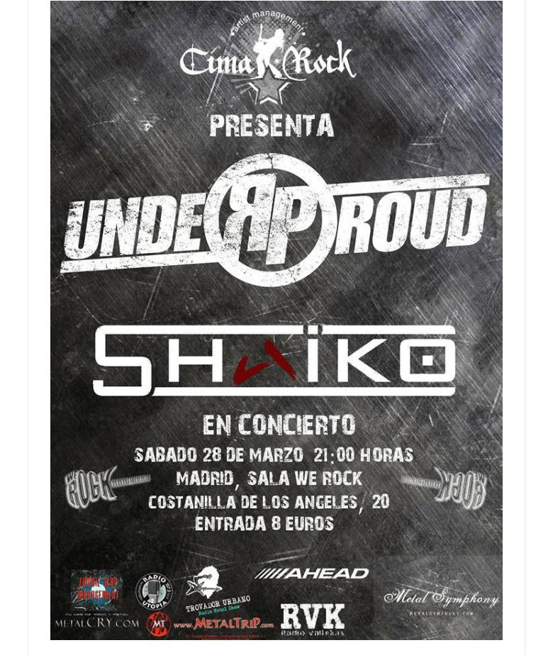 SIBEFOR (RU) – Fan metal show – UNDER PROUD + SHAIKO
