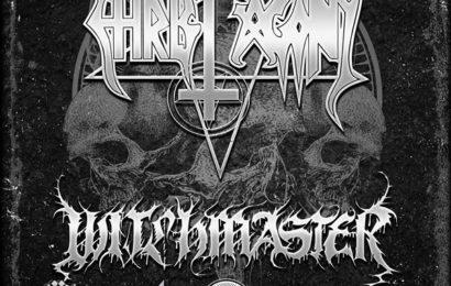 Unholy black fest: CHRIST AGONY + WITCHMASTER + TÖTENWOLF + SLUPS