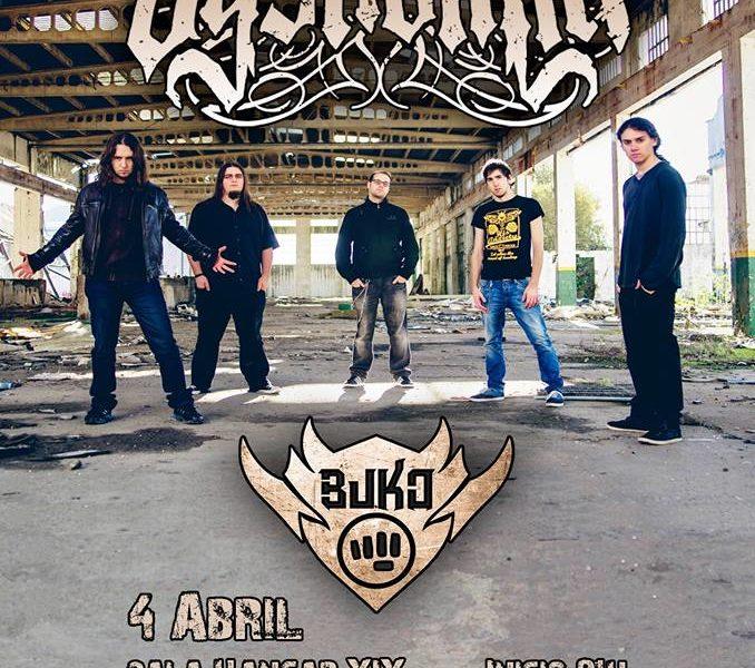 BUKO + DYSNOMIA – Madrid – 04/04/15