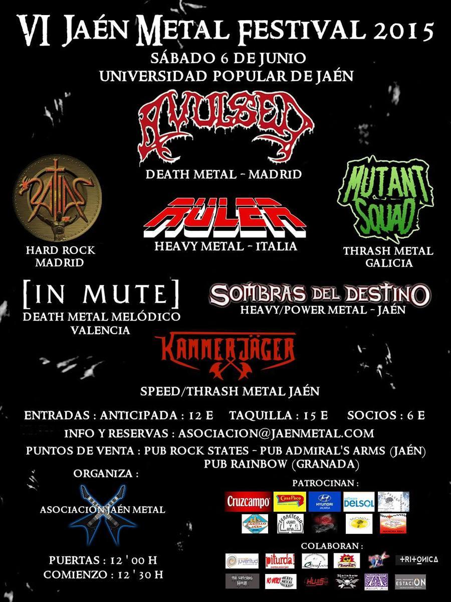 Criminal Hardcore Fest – Rock'Antena Roll / Rock´N´Huelva – VI Jaén Metal Festival